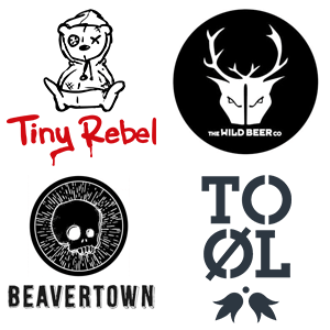Tiny Rebel Wild Beer Co Beavertown and To Ol