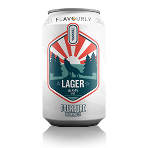 Flavourly x Fourpure - Lager Can