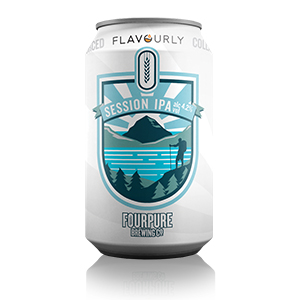 Flavourly x Fourpure - Session IPA Can