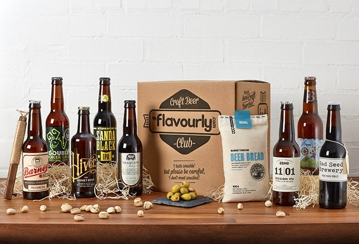 craft beer and gin gifts gift sets boxes flavourly