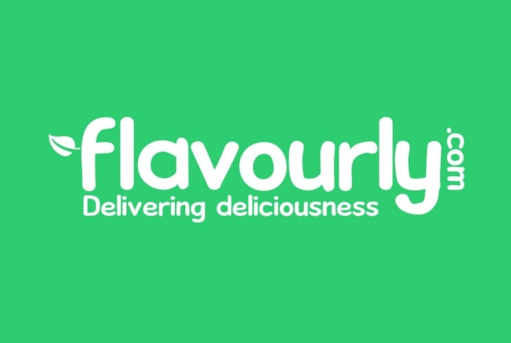 Flavourly White Logo