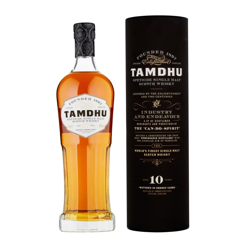 Tamdhu 10 Y.O. Speyside Malt by None
