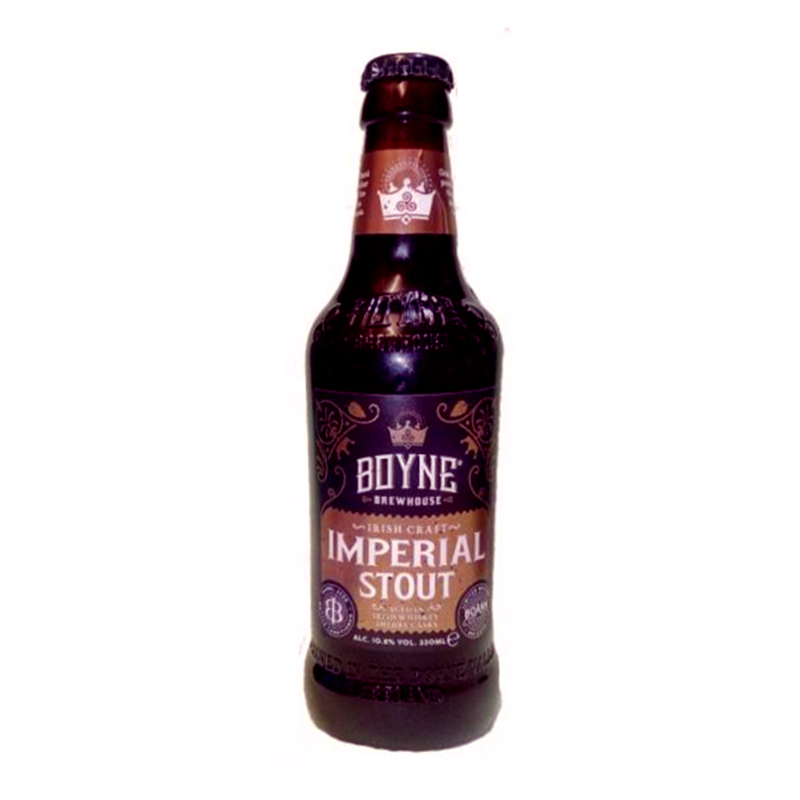 Irish Craft Imperial Stout by Boyne Brewhouse