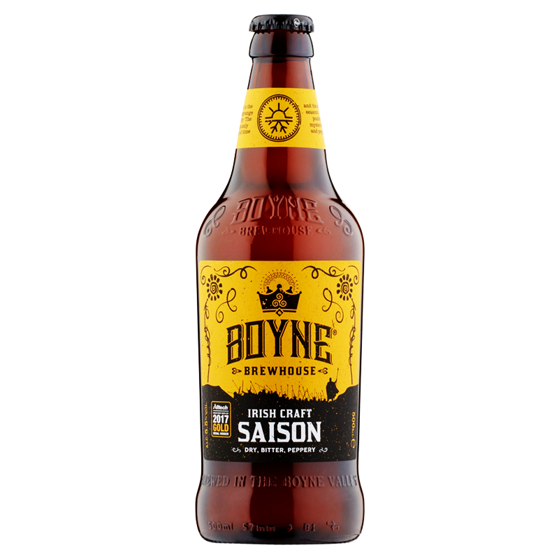 Irish Craft Saison by Boyne Brewhouse