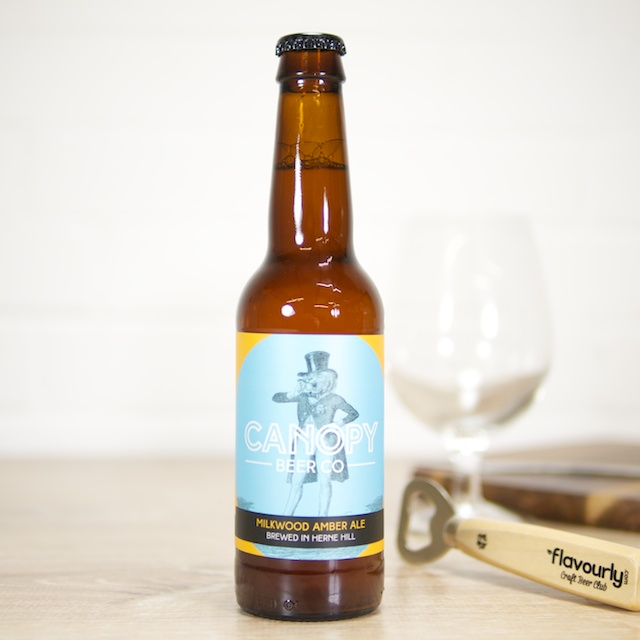 Milkwood Amber Ale by Canopy Beer Co
