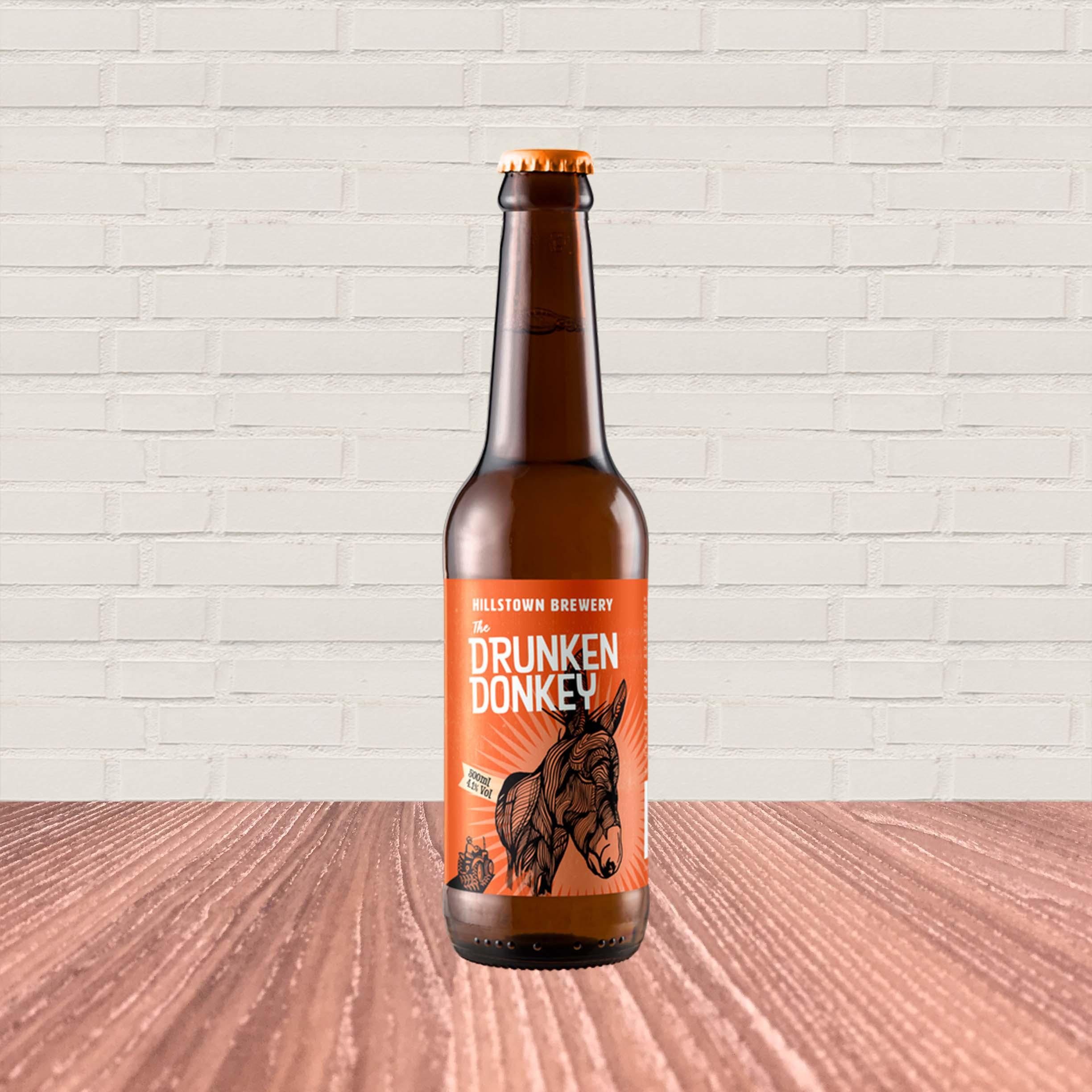 Drunken Donkey Lager by Hillstown