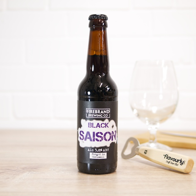 Black Saison by Firebrand Brewing Co.