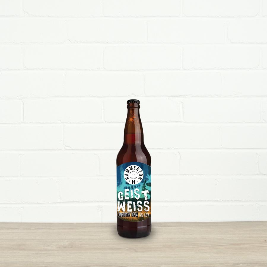 Geist Weiss by Hammerton Brewery