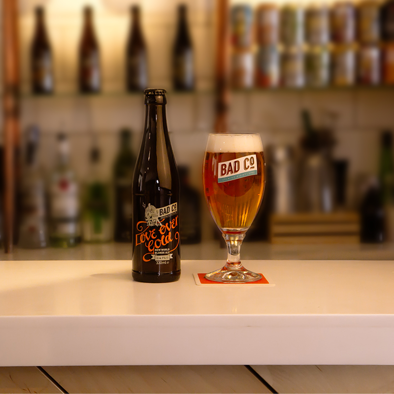 Love Over Gold Blonde Ale by BAD Co.