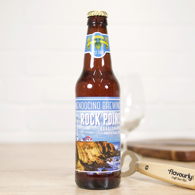 Rock Point IPA by Mendocino Brewing Company
