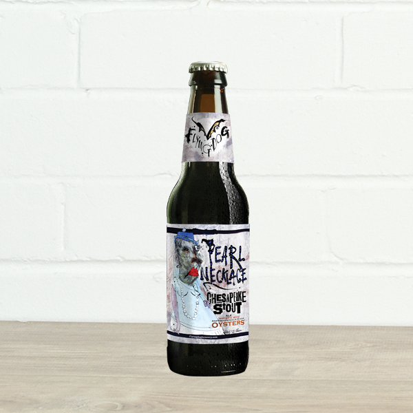 Pearl Necklace Oyster Stout by Flying Dog