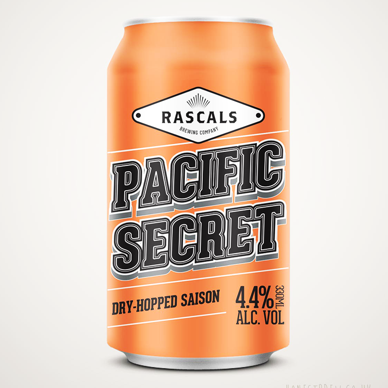 Pacific Secret by Rascals Brewing Company