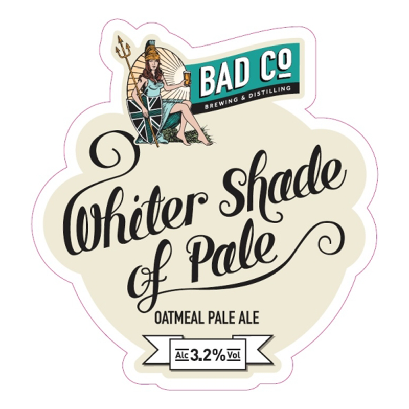 Whiter Shade of Pale Oatmeal Pale Ale by BAD Co.
