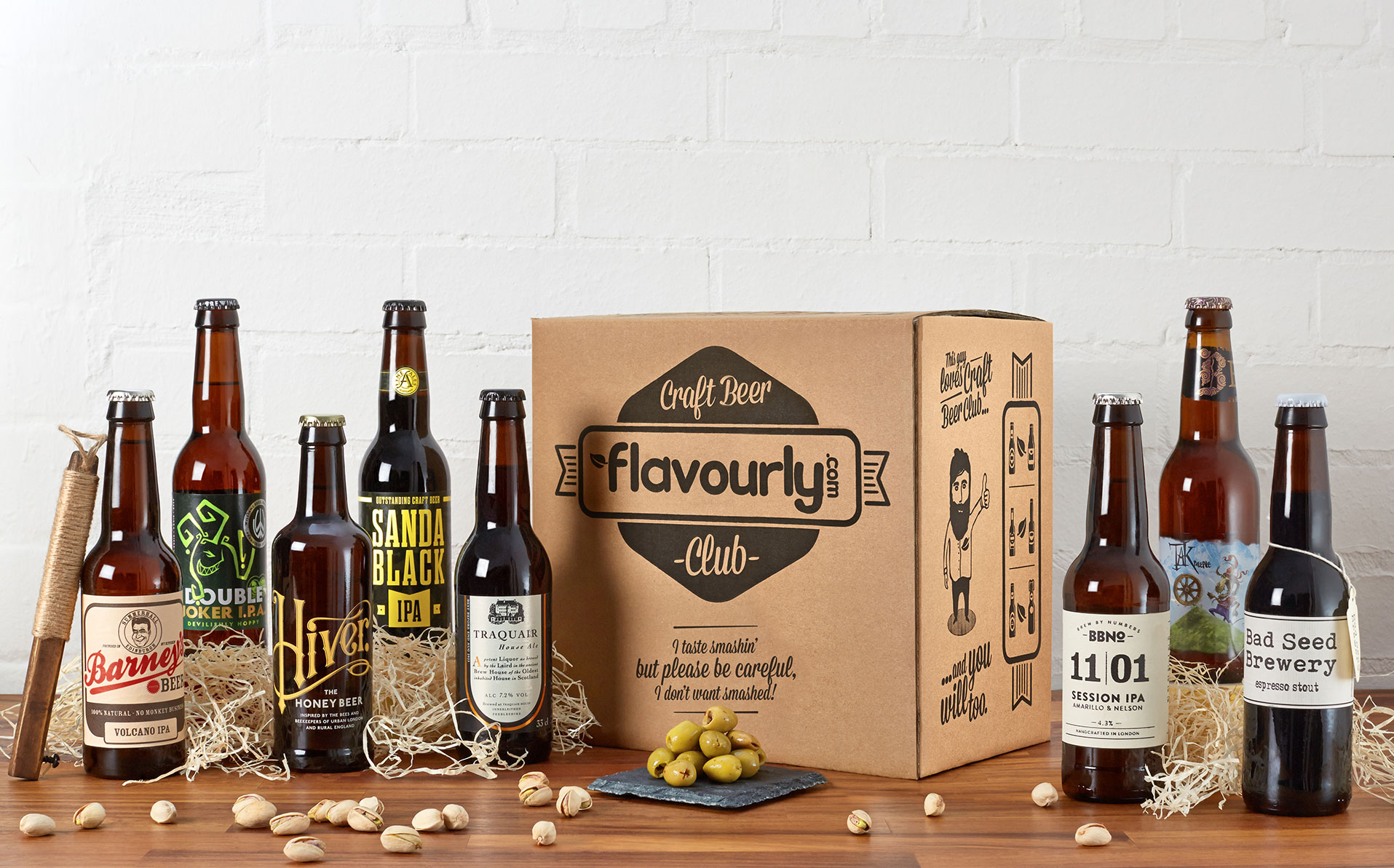 A Mixed Selection of Craft Beers by Flavourly