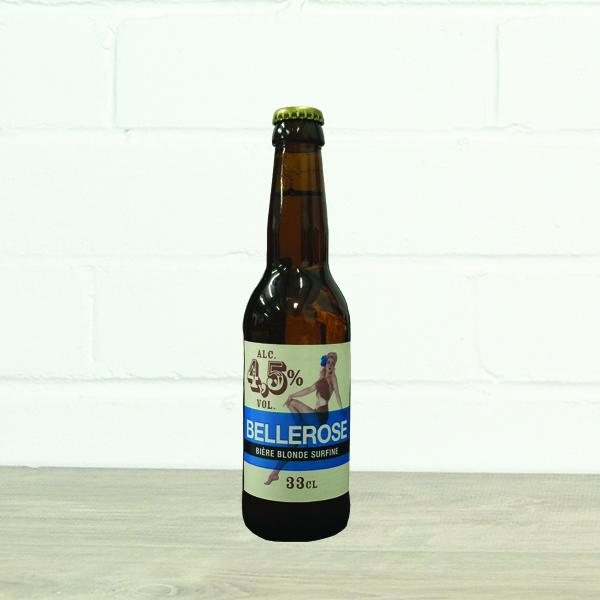 Bellerose Blonde Surfine by Brasserie des Sources