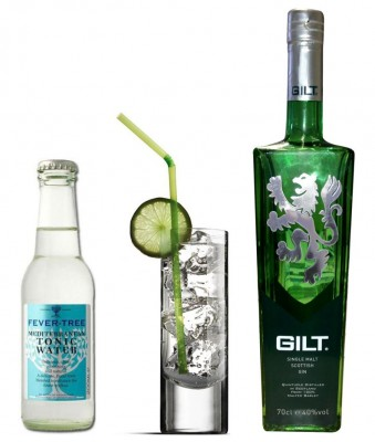 Gilt Scottish Gin by None