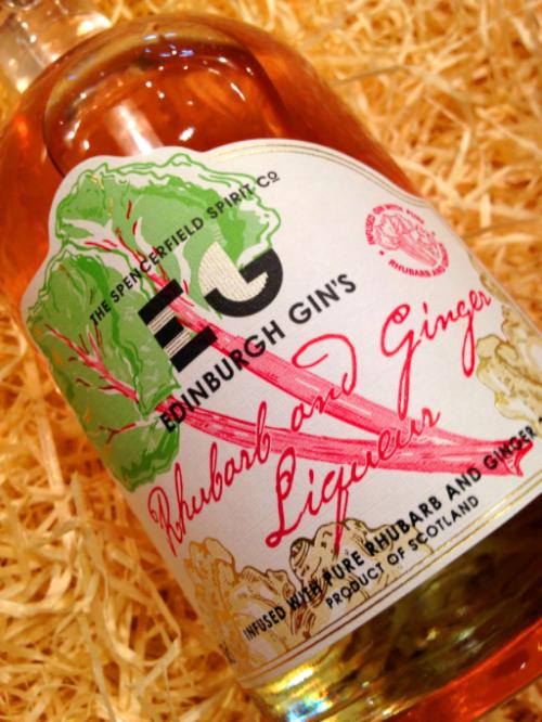 Edinburgh Gin Rhubarb and Ginger Liqueur by None