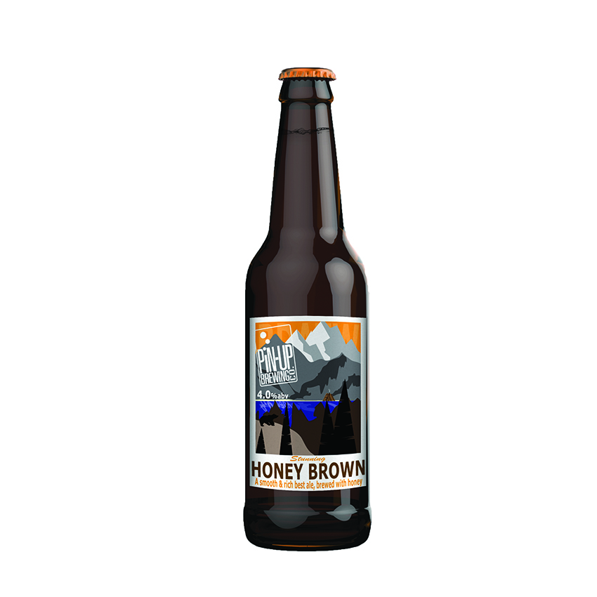 Honey Brown Ale by Pin-Up Brewing Co