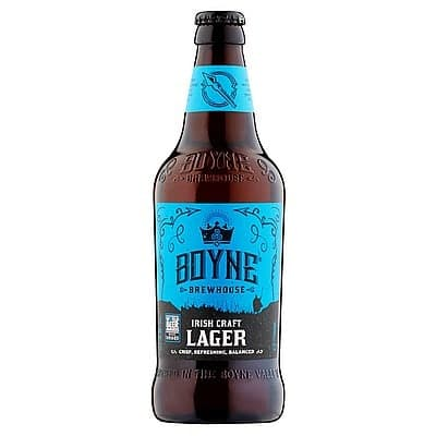 Irish Craft Lager by Boyne Brewhouse