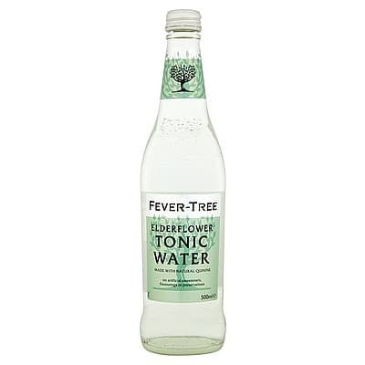 Fever-Tree Elderflower Tonic Water by None