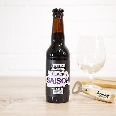 Black Saison by Firebrand Brewing Co.