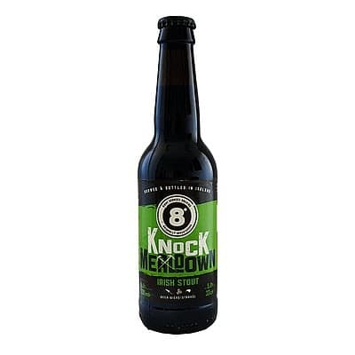 Knockmealdown Stout by Eight Degrees Brewing