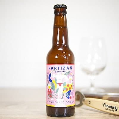 Lemongrass Saison by Partizan Brewing