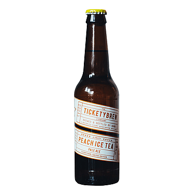 Peach Iced Tea by Ticketybrew