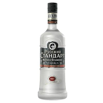 Russian Standard Vodka by None