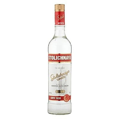 Stolichnaya Red Vodka by None