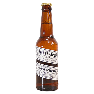 Jasmine Green Tea Ale by Ticketybrew