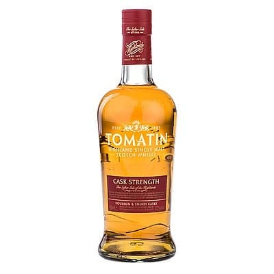 Tomatin Cask Strength Malt by None