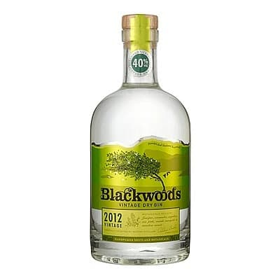 Blackwoods Gin by None