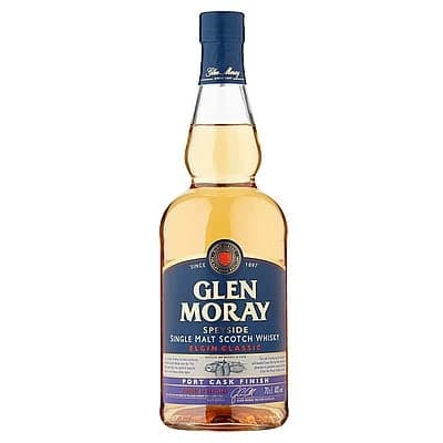 Glen Moray Classic Port Cask Finish by None