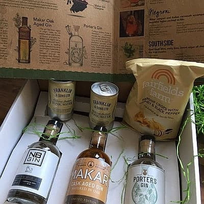 January Gin Box by Flavourly