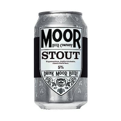Moor Stout by Moor Beer