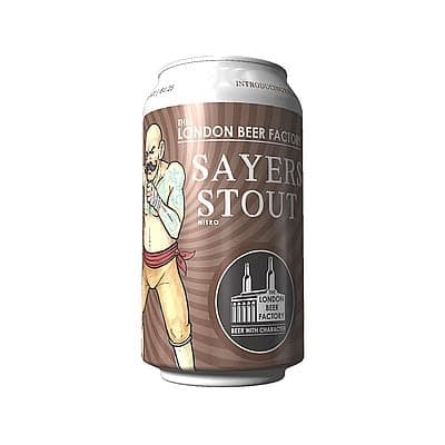 Sayers Stout by The London Beer Factory