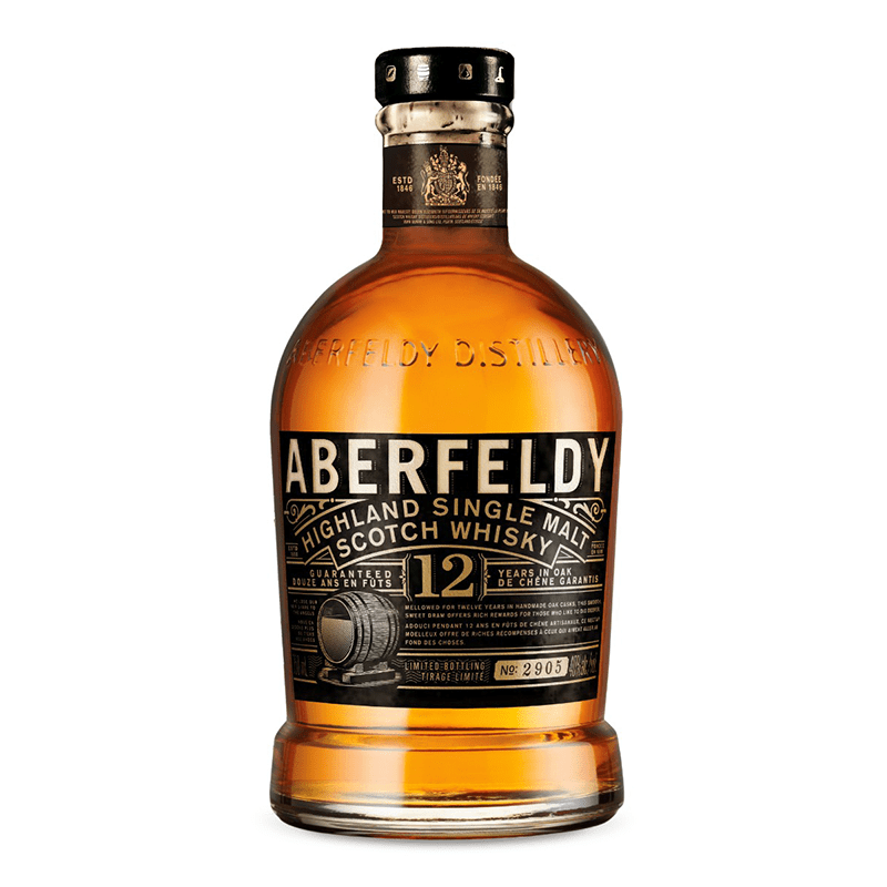 Aberfeldy 12 Y.O. Malt by None