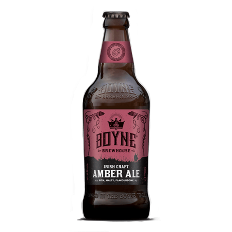 Irish Craft Amber Ale by Boyne Brewhouse