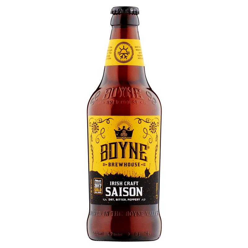 Irish Craft Saison by Boyne Brewhouse