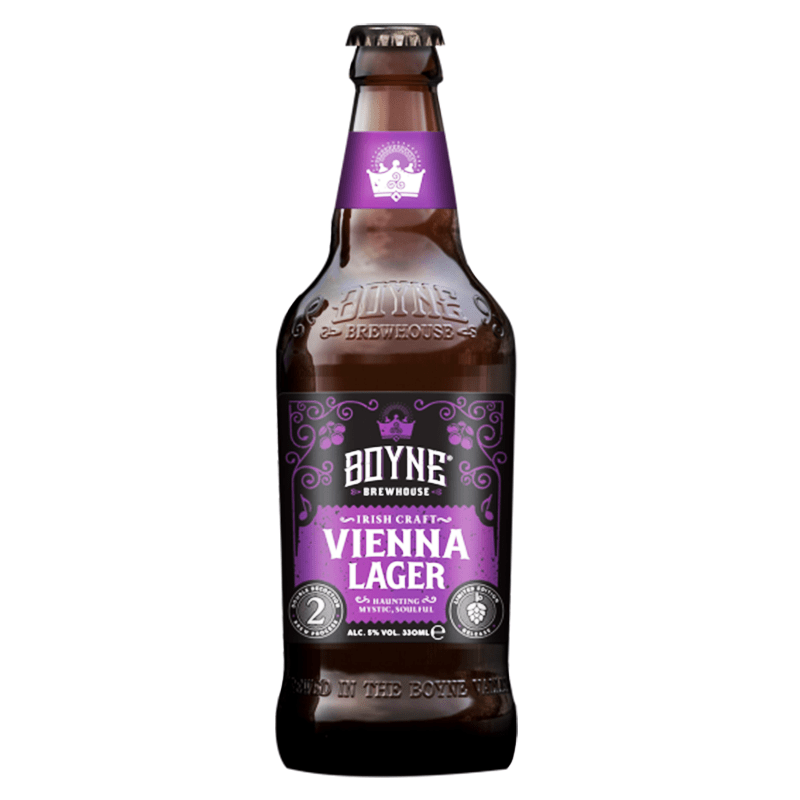 Irish Craft Vienna Lager by Boyne Brewhouse