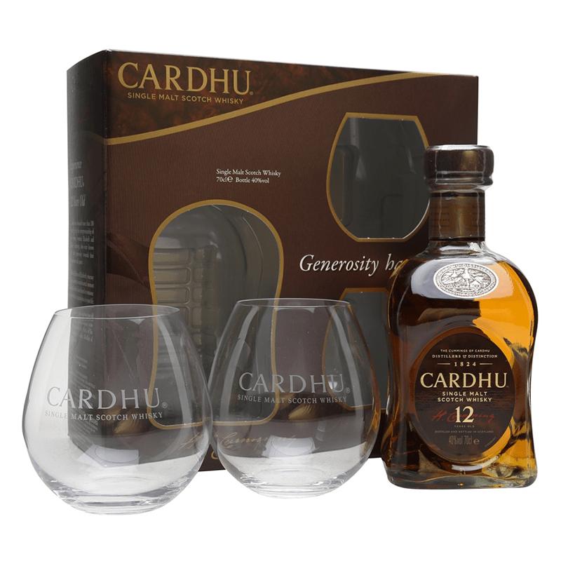 Cardhu 12 Y.O. Malt 2 Glass Pack by None