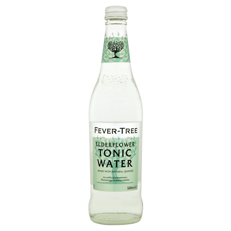 Fever-Tree Elderflower Tonic Water by None