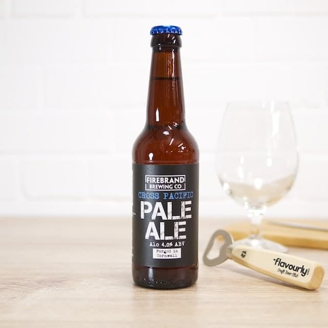 Cross Pacific Pale Ale by Firebrand Brewing Co.