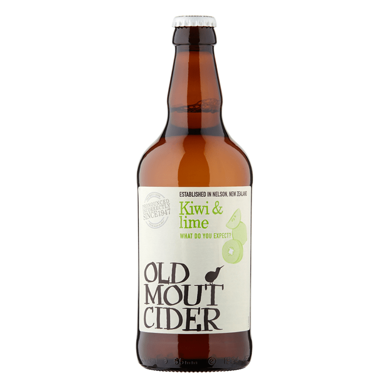 Old Mout Kiwi & Lime Cider by None