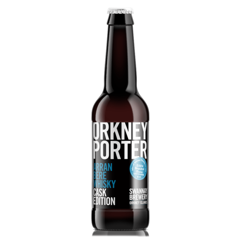 Barrel Aged Orkney Porter by Swannay Brewery