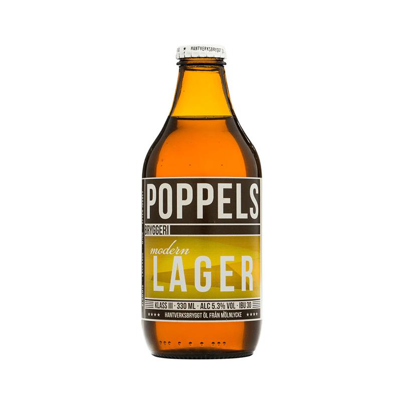 Modern Lager by Poppels Bryggeri