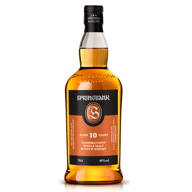 Springbank 10 Y.O. Whisky by None