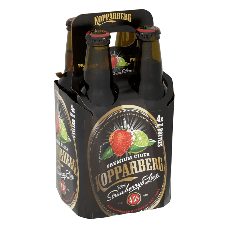 Kopparberg Strawberry & Lime Cider 330ml by None