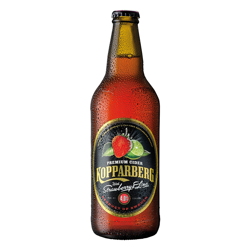 Kopparberg Strawberry & Lime Cider 500ml by None